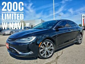 2016 Chrysler 200 C Navi Sunroof Heated Seats  FREE Delivery