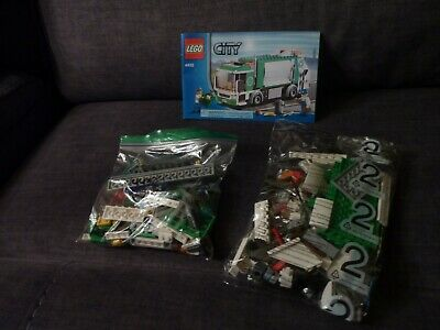 Lego City Garbage Truck (4432) COMPLETE 1/2 Bags SEALED 208pc 2 Minifigures