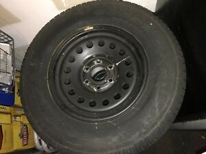 Gm truck GMC chevrolet  truck steel rims and tires
