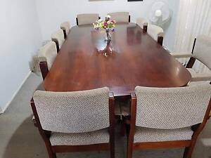 10 Seater Dining Table Boardroom Table 10 Seats Dining Table Harrington Park Camden Area Preview