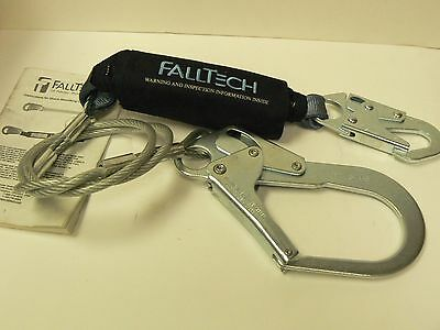 Falltech Lanyard Cable With Rebar Hook End 83573
