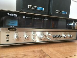 Systeme de son vintage, ampli+ speaker + Sub, son impressionnant