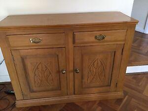 Antique pine dresser side board Essendon Moonee Valley Preview