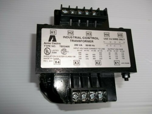 Acme Electric TB32405 Industrial Control Transformer