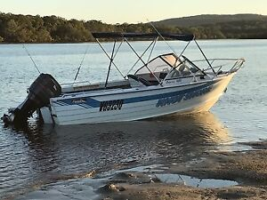 Savage Osprey 480 Aluminium Boat Stanthorpe Southern Downs Preview