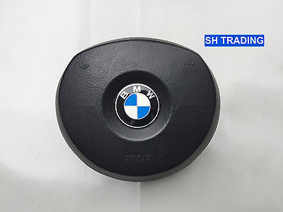 BMW M SPORT X3 E83 X5 E53 STEERING WHEEL DRIVERS AIRBAG FACELIFT 2004 2006
