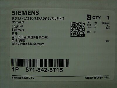 Siemens - Insight Logical Automation Controller Software 571-842-5t15 Sealed