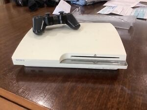 White PS3 with games additional