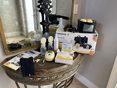 GUC Medela Freestyle Double Electric Breast Pump With Accessories
