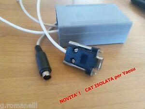 CAT-ISOLATA-interfaccia-per-Yaesu-e-cavo-programmazione-Yankee-Iso-CAT-by-IK7NNX