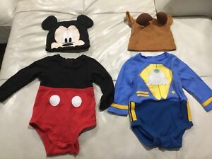Mickey and The Beast baby costumes