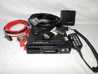 Motorola Astro Spectra Uhf 450-483mhz P25 110w Mobile Radio W3 Aes256 Des-ofb Xl