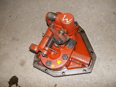 Farmall M Ih Tractor Original Hydraulic Bell Pump Assembly W Cover Panel