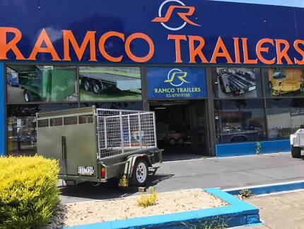 Ride on mower trailer 7 x 5