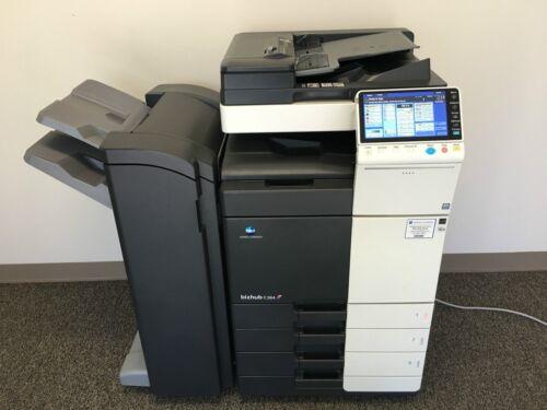 Konica Minolta Bizhub C364 Color Copier Printer Scanner Network Low 187k Total