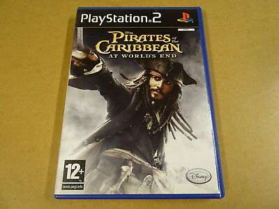 PS2 GAME / PIRATES OF THE CARIBBEAN: AT WORLD'S END (DISNEY) (PLAYSTATION 2)
