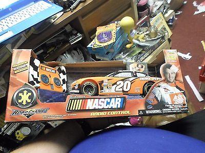 NEW NASCAR 1/18 TONY STEWART HOME DEPOT RADIO CONTROL #20 ORANGE RACE CAR
