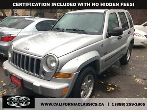 2007 Jeep Liberty LIMITED! LEATHER! SUNROOF! - 4X4