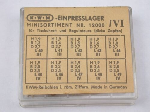KWM Factory German Friction NOS Bushings Ref 12000 /VI. 5G