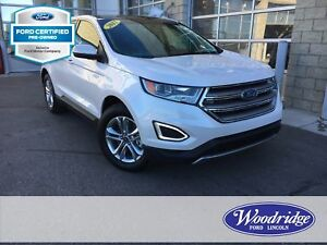 2017 Ford Edge SEL CERTIFIED PRE-OWNED, LEATHER SEATS, NAVIGA...