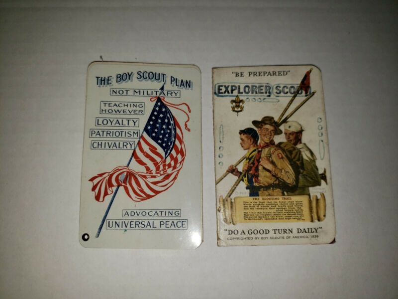 RARE 1914 1939 BOY SCOUTS MEMBERSHIP CARDS MUST C