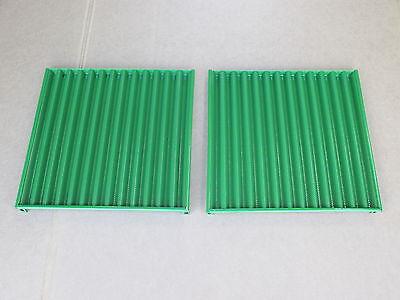 2 Metal Side Grill Screen Panels For John Deere Jd Backhoe 410 Industrial 300b