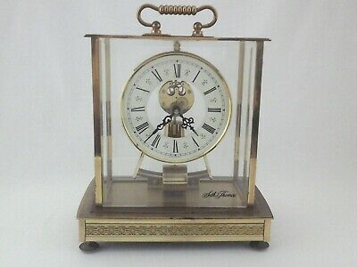 SETH Thomas Brass Mantle Clock Pendulum Movement West Germany Vintage EXCELLENT*