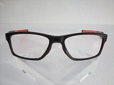 "Oakley ""CROSSLINK"" OX8090-0155 Satin Black 55[]17 137 Eyeglass/Sunglass Frames"