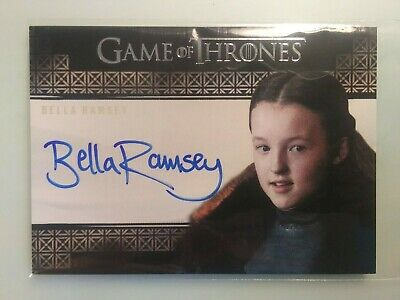 Game Of Thrones Inflexions VS Autograph Card Bella Ramsey as Lady Lyanna Mormont
