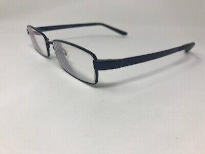 JINS Eyeglasses Frame MMF-16S-089A 53-16-148 O27 Polished Blue (Jins Glasses)