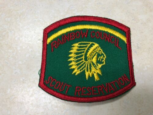 Rainbow Scout Reservation Camp Patch