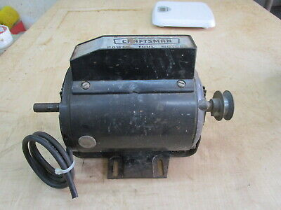 Craftsman Power Tool Motor Model 113.12060--34 Hp--115230v--3450 Rpm--tested