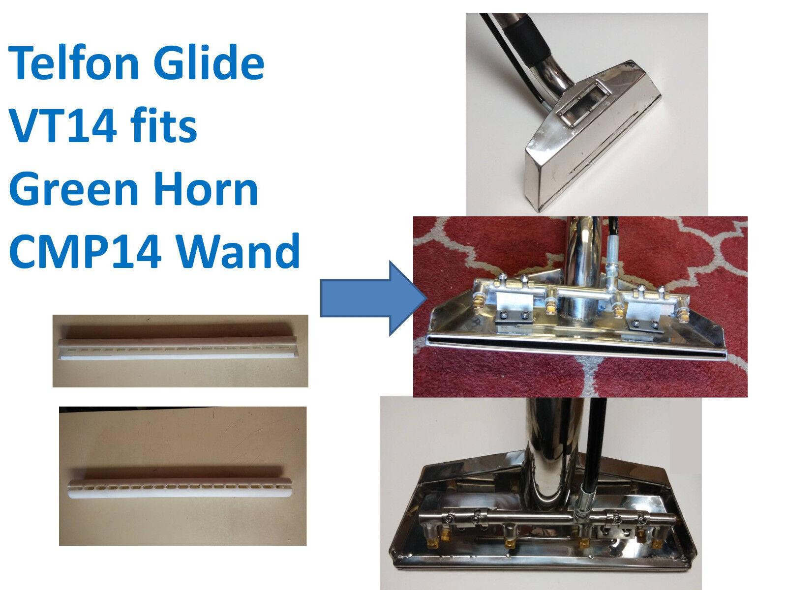 14inch Telfon Glide for CMP VT14 Green Horn Carpet Cleaning