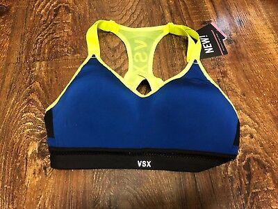 Victorias Secret Incredible Vsx Sports Bra 32B Navy