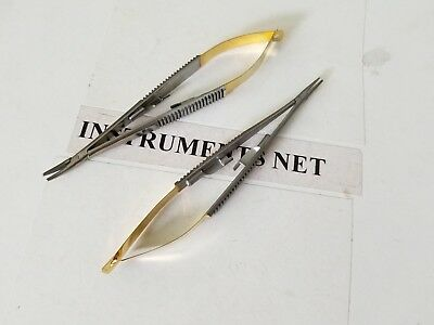 2 Tc Diamond Coated Micro Castroviejo Needle Holder Surgical