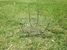 Vintage retro metal magazine rack Elanora Gold Coast South Preview