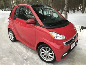 """2014 Smart For Two """"100%Electric Car"""" Sunroof, $39.Wk."""