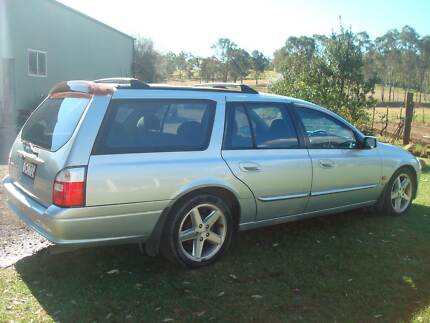 2001 Ford Fairmont Factory Tickford 5L V8 Stationwagon 7 seater Glossodia Hawkesbury Area Preview