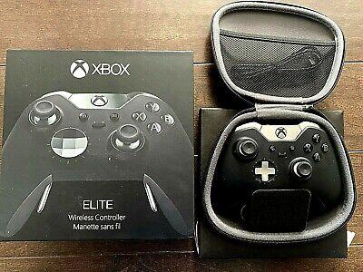Xbox One Elite Controller Black Series 1 With R Stick Drift - Read Description, usado segunda mano  Embacar hacia Argentina