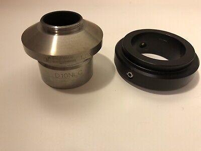 Diagnostic Instruments D10nlc 1.0x C-mount Microscope Camera Adapter