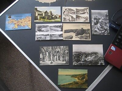 249. 9 x Postcards of Mixed Places by Valentines & Sons Ltd