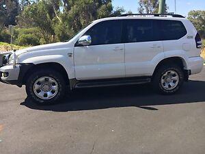 Toyota prado Collie Collie Area Preview