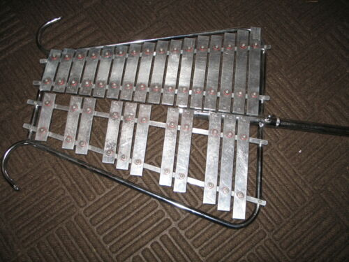 Glockenspiel Bell Lyra Marching Lyre 2 octave xylophone lightweight