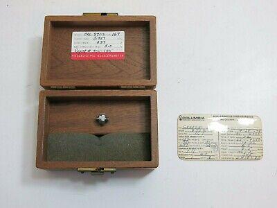 Columbia Piezoelectric Accelerometer Model Crl 8702 2.989 Pcg 239 Pf 5.0