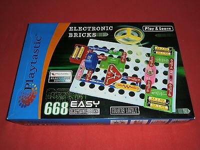 Vintage Kinder+Jugend Elektro Elektronik Experimente Baukasten/Kasten +Anleitung