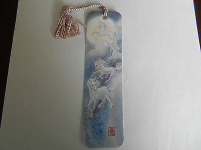 Antioch Unicorns Bookmark by Sunshine Thoughts 1987 Collectable