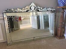 Venetian Mirror 120cm X 90cm - Gladesville Gladesville Ryde Area Preview