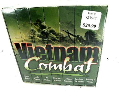 Vietnam Combat 7 VHS Video Box Set 1999, #37963