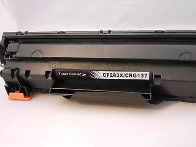 CF283X 83X Toner Cartridge for HP LaserJet Pro M125 M127fn M201dw MFP225dw-1PK