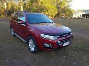 2015 Ford Territory TS Diesel 7 seat (rwd) 4d Wagon Bundaberg Central Bundaberg City Preview